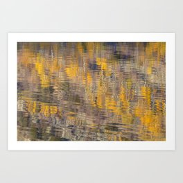Fall Abstract 3 Art Print