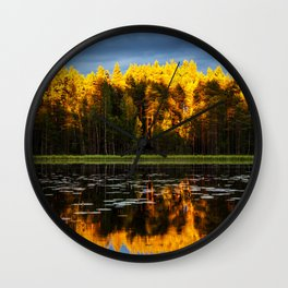 Autumn Everything Wall Clock