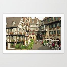 Alsace - Colmar Art Print