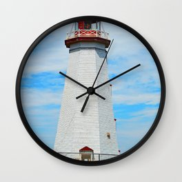 North Cape Lighthouse Wall Clock