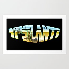 Ypsilanti Logo 1 Art Print