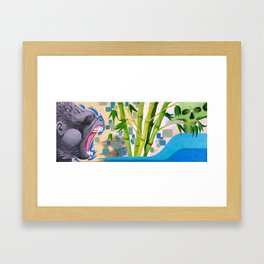 Gorilla  Framed Art Print