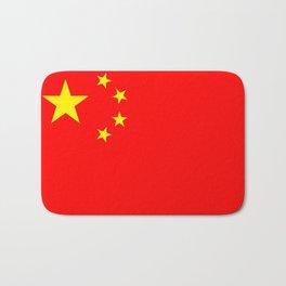 Chinese Flag Sticker & More Bath Mat