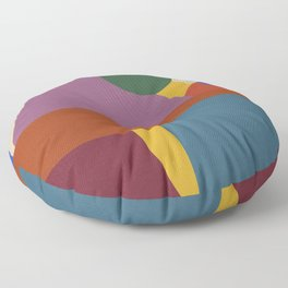 Bee's Knees TWO (Square) Floor Pillow