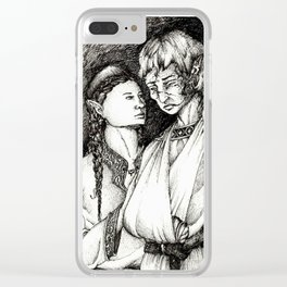 Does time grow limbs, cousin? Clear iPhone Case