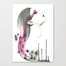 Human + nature Canvas Print