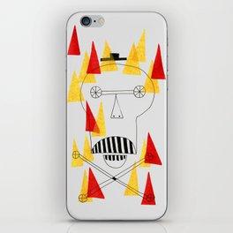 Flaming Skull iPhone Skin