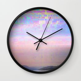 Displaced Wall Clock