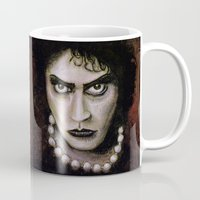 rocky horror picture show Mugs featuring Untitled I by Rouble Rust