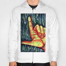 Pointing hand Hoody