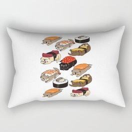 SUSHI OTTER Rectangular Pillow