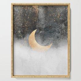 Crescent Moon Serving Tray