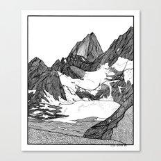 Cobalt Lake Canvas Print