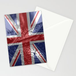 Big Ben - UK Flag Stationery Cards