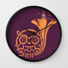 Sunset Melody Wall Clock