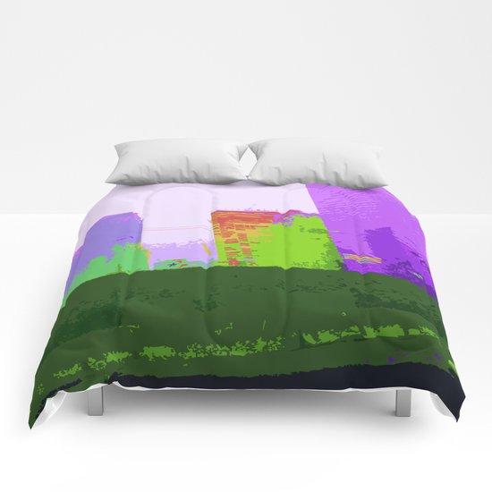 NY#2 Ground Zero, Purple Comforters