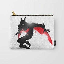 Bat-man Beyond Minimalist Splash Poster  Carry-All Pouch