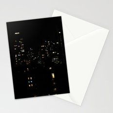 1 city night Stationery Cards