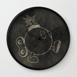 The Bomb Wall Clock