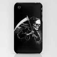 DEATH WILL HAVE HIS DAY iPhone (3g, 3gs) Slim Case