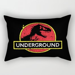 Monsters of the Underground Rectangular Pillow