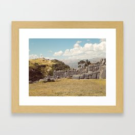 Cristo Blanco, Cusco Framed Art Print
