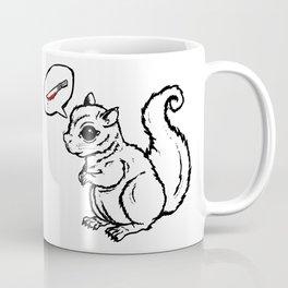 Murder on my mind (white) Coffee Mug