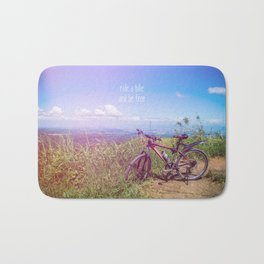 bike = freedom Bath Mat