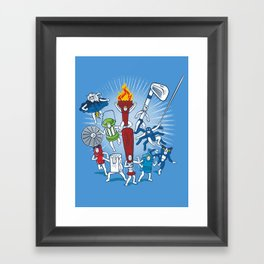 Any resemblance is purely coincidental Framed Art Print
