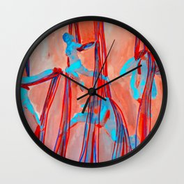 Aerial Quartet Wall Clock