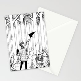 Keepers of the Forest Stationery Cards