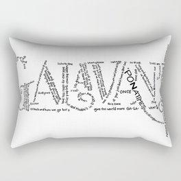 Galavant Fan Lyrics Rectangular Pillow