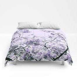 Spring Lavender Flowers Comforters