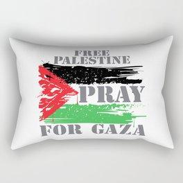 VINTAGE FREE PALESTINE Rectangular Pillow