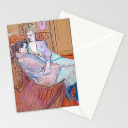 "Henri de Toulouse-Lautrec ""The Two Friends"" Stationery Cards"