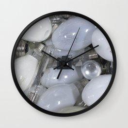 Light bulbs & Tiny Tiny Camera Wall Clock
