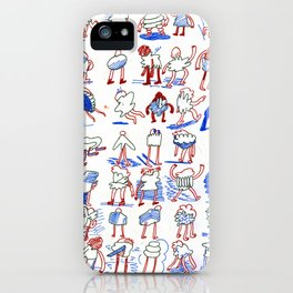 Buncha Folks Alternate iPhone Case