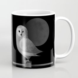 Barn Owl Full Moon Coffee Mug