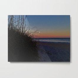 Moon Dunes Metal Print