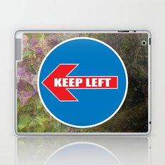 KEEP LEFT 02 Laptop & iPad Skin