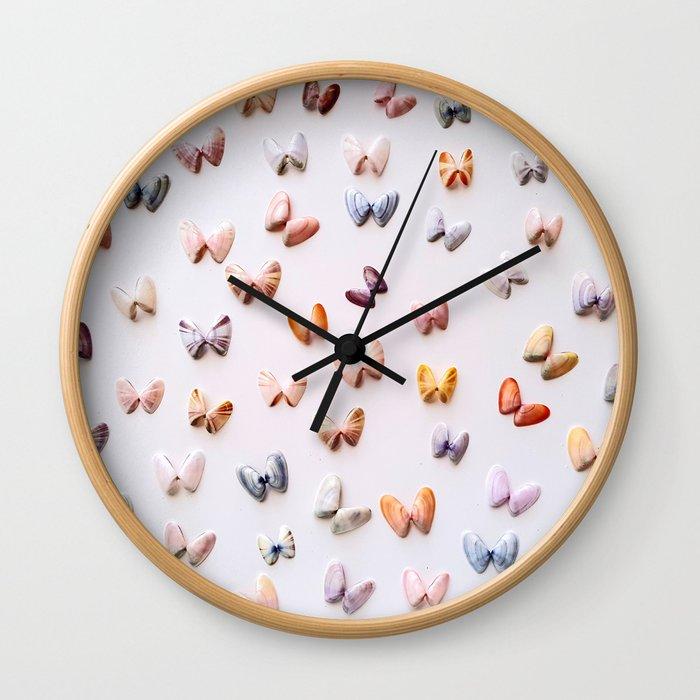 Coquina Sunrise Wall Clock