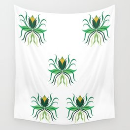 Delicate Flowers Wall Tapestry