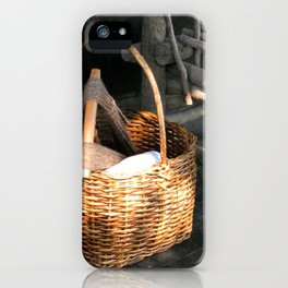 Basket of Yarn iPhone Case
