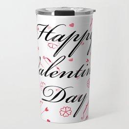 Happy Valentine's Day: Cupid's Arrow Travel Mug