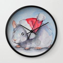 Rat Claus Wall Clock