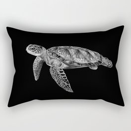 Sea Turtle 1 Rectangular Pillow