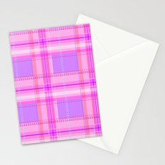 Cuter Than You Plaid Stationery Cards