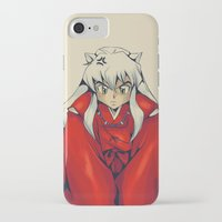 inuyasha iPhone & iPod Cases featuring Inuyasha by KanaHyde