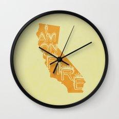 i am on fire! Wall Clock
