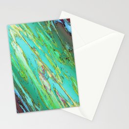 The fast crushing rain Stationery Cards